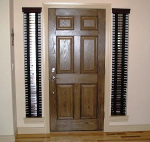 what are some blinds or shades that can be used on sidelights - Sidelight Blinds