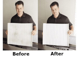 Ultrasonic Blind Cleaning Colorado Springs