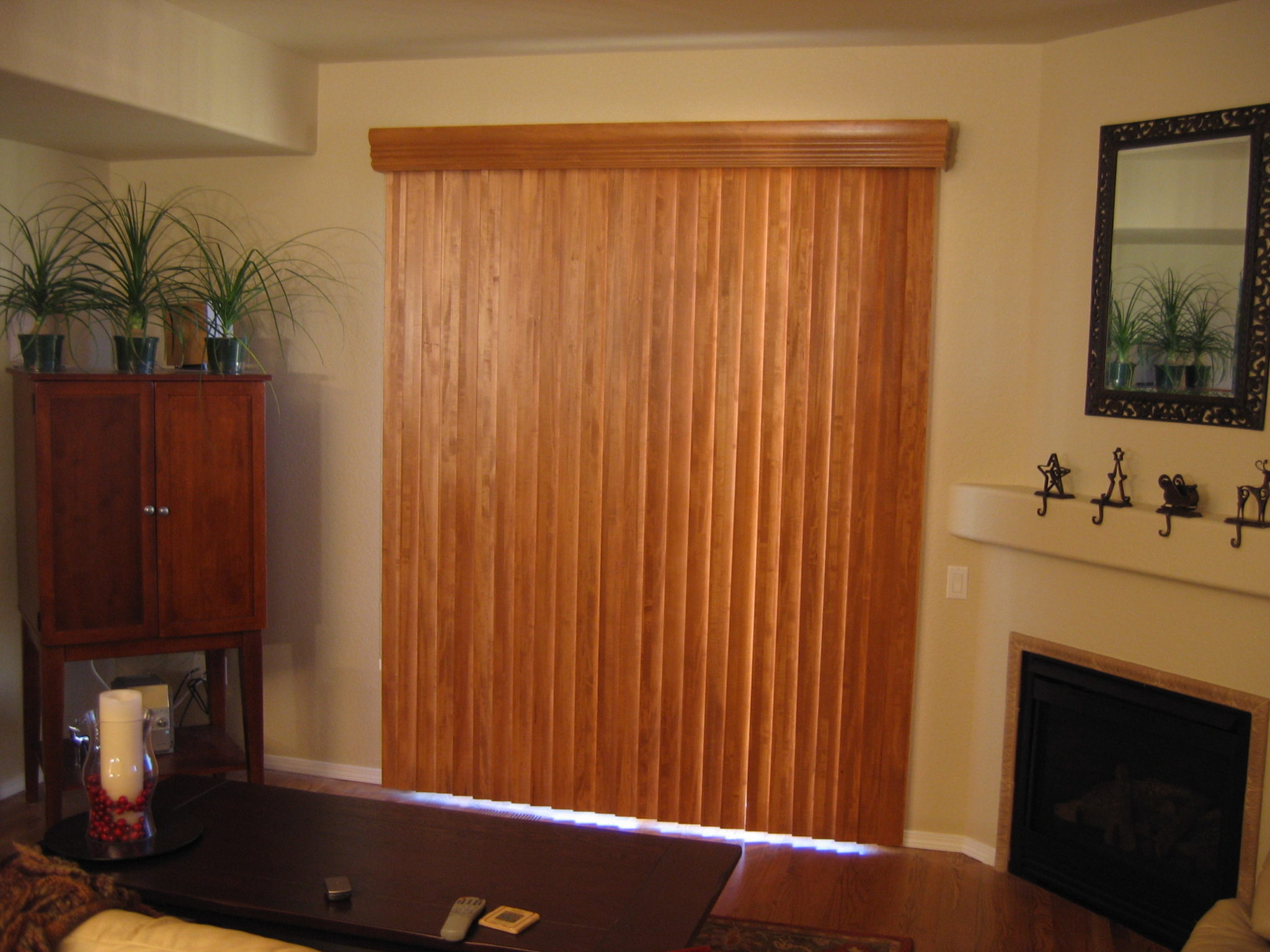 Wood Vert Peak Window Coverings