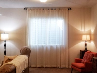 Light Filtering Drapery | Peak Window Coverings